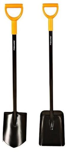 FISKARS siekiera x25 solid łopata szpadel piła