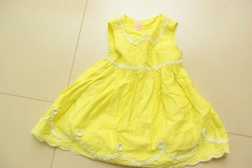 97b902e5 ŚLICZNA Sukienka NIEMOWLĘCA_9/12/18mc_80/86