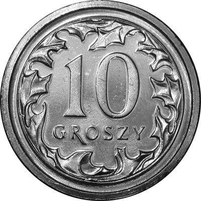 10 Gr Groszy 2016 Mennicza Z Worka Lub Rolki 7324895133 Allegro Pl