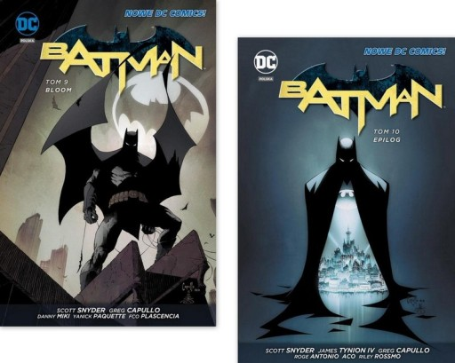 Batman Tom 10 Epilog + Tom 9 Bloom Scott Snyder