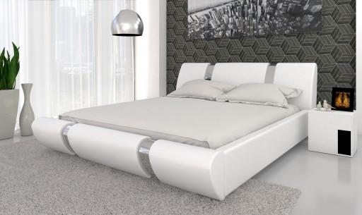 łóżko Sypialniane 180x200 Materac Pocket Pojemnik