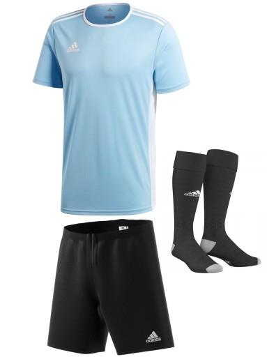 Adidas komplet piłkarski S męski strój sportowy