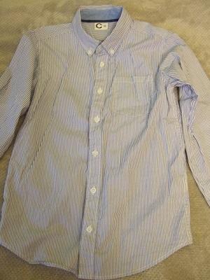Koszula chłopięca w paski, rozmiar 134cm, Cubus 7704961970  7tz99