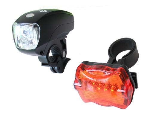 Lampki Led Oświetlenie Rowerowe Przód I Tył