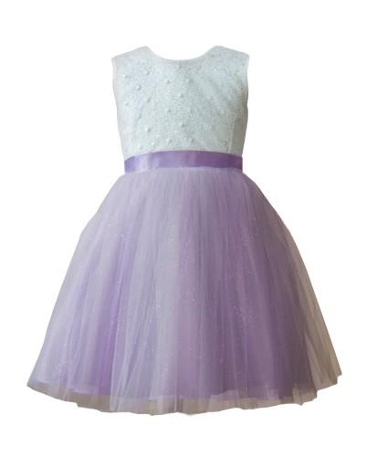 8e291849be Sukienka tiulowa tutu komunia wesele chrzest 68 (7518951512 ...