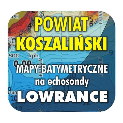 Powiat koszaliński - mapy na echosondy Lowrance BG