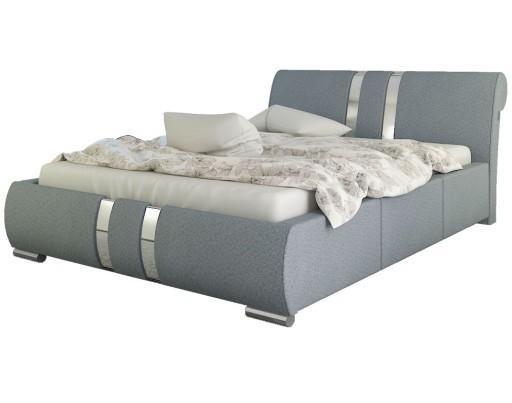 łóżko Tapicerowane Enzo łoże 180x200 Z Materacem