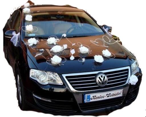 9ffb965f63 Dekoracja samochodu na samochód XXXL ślub KOLORY 5387910891 - Allegro.pl