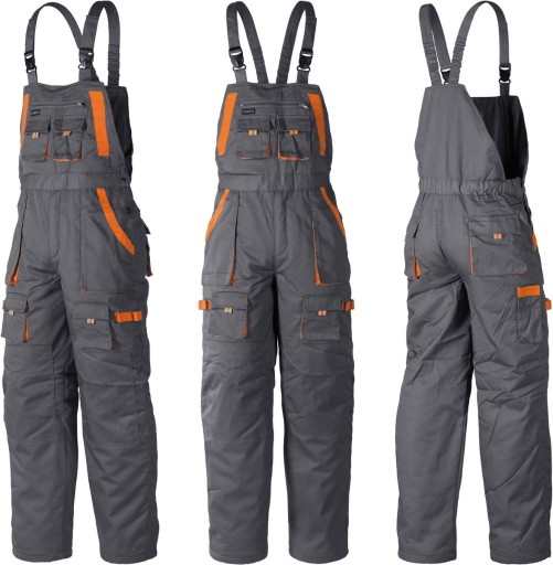 5416326e84863a MOCNE spodnie robocze ogrodniczki OCIEPLANE S 7099773170 - Allegro.pl