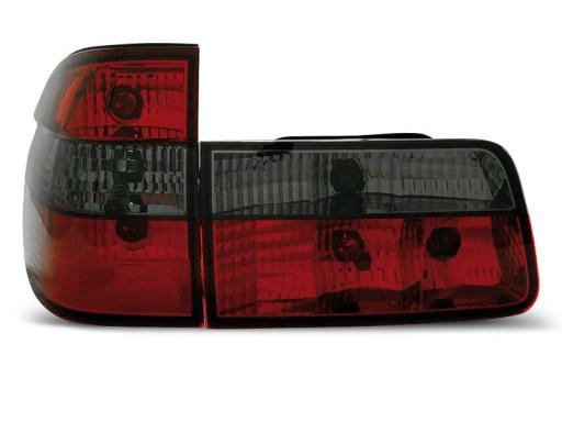Lampy Tył Tylne Bmw E39 Touring Kombi Red Black
