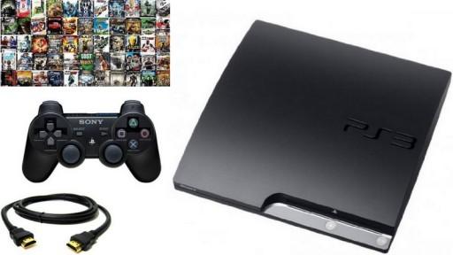 Sony PlayStation 3 + PAD + GRY GWARANCJA
