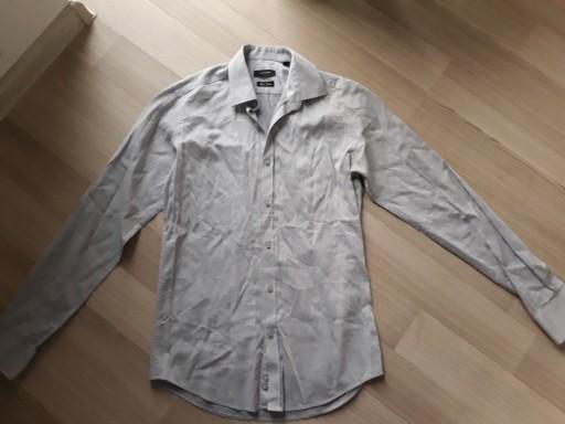 Koszula w prążek długi rękaw LAVARD r. 37 176 182 9057434354  xCeYu