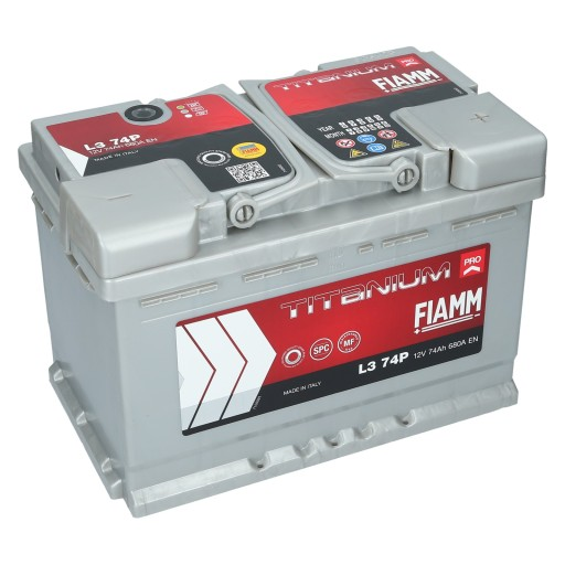 Akumulator Fiamm Titanium Pro L3 74p 74 Ah 680a Zielona Gora Allegro Pl