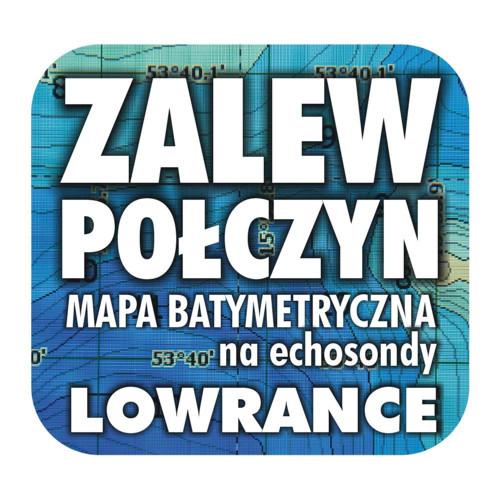 Zalew Połczyn mapa na echosondy Lowrance Simrad BG
