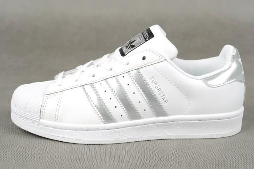 wyprzedaż ze zniżką buty skate oficjalne zdjęcia Buty Damskie Adidas Superstar AQ3091 r. 39 1/3