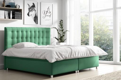 Kontynentalne łóżko Z Pojemnikiem 180x200 Bella G