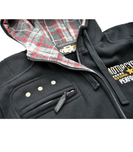 Kurtka męska, motocyklowa bluza, chopper bobber XL