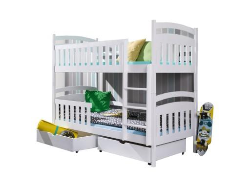 łóżko Piętrowe Dla Dzieci 2 Osobowe Tomek 90x200