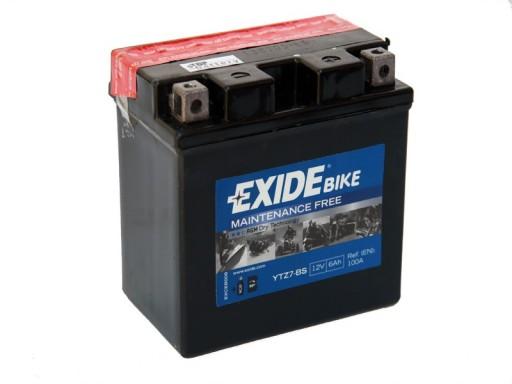 Yamaha  XVS  125  Virago  akumulator EXIDE  f .VAT