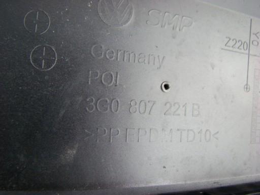 VW Passat 3G0 GTE Hybrid-zderzak przód przedni