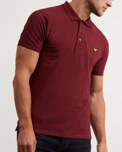 Koszulka Polo Lyle Amp Scott Casual Bordowa 2xl 7513031376 Allegro Pl