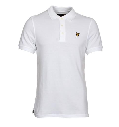 Koszulka Polo Lyle Amp Scott Casual Biala M 7512956808 Allegro Pl
