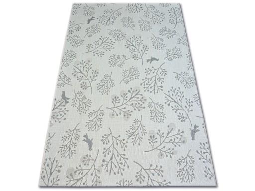 Dywany łuszczów Sznurkowy 140x200 Listki B745