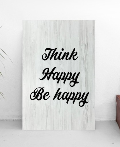 Be Happy Plakaty Obrazki Dekoracje Do Domu 20x35