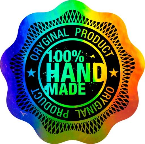 Naklejka Hologram Z Logo Folia Pryzmatyczna Nadruk 6785629037 Allegro Pl