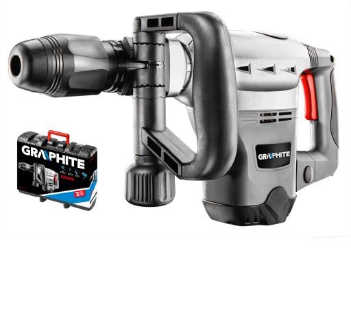 GRAPHITE Młot wyburzeniowy SDS MAX 1200W 58G876