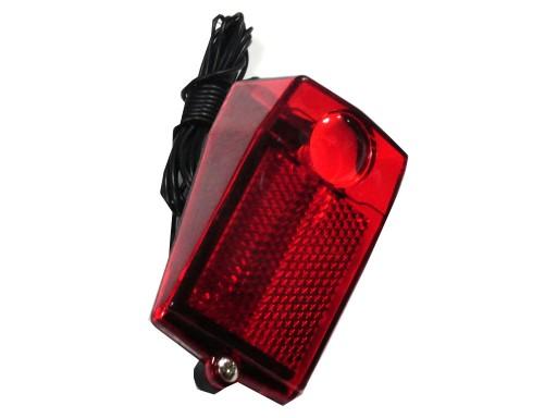 Lampa Retro Tył Na Dynamo Rowerowa żarówka