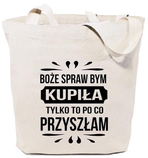 Torba bawełniana z Twoim Logo Nadrukiem Grafiką