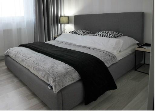 łóżko Montana 160x200 Sypialnia Stelaż Materiałowe