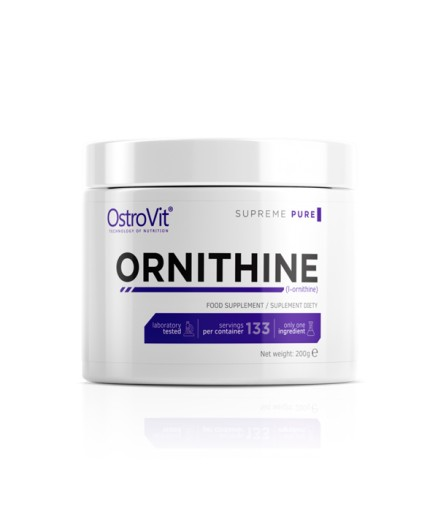 OSTROVIT SUPREME PURE ORNITHINE 200G L-ORNITYNA