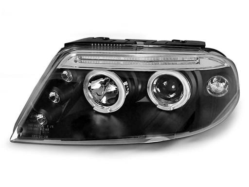 Lampy Przod Vw Passat B5 Fl 3bg Black Angel Ringi Pajeczno Allegro Pl
