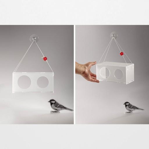 Wiszące karmniki dla ptaków TWEET RESTO BAR.