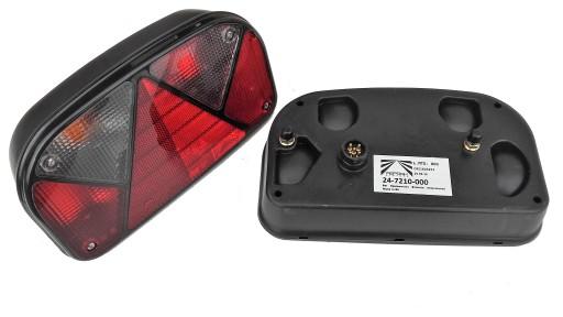 Lampa Tylna Lampy Tył Aspock Multipoint Ii Bajonet