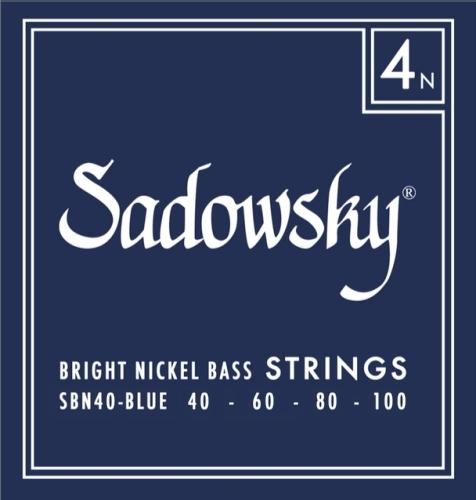 Struny Sadowsky SBN40 Blue 40-100 od BASSWORLD