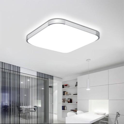 Lampa Led Plafon 36w 200w 45x45 Cm Aluminum Sufit 7608228587