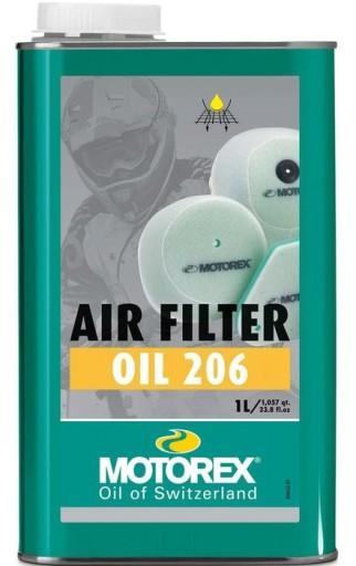 Motorex Olej 206 + Proszek do Filtrów Powietrza