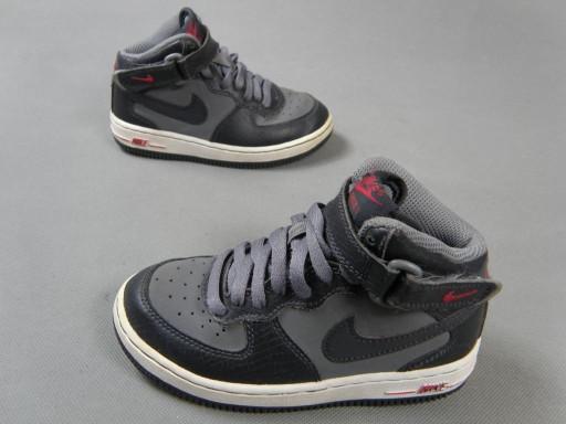 9857204d NIKE FORCE I skórzane buty sportowe wyższe 28,5 (7616414488 ...