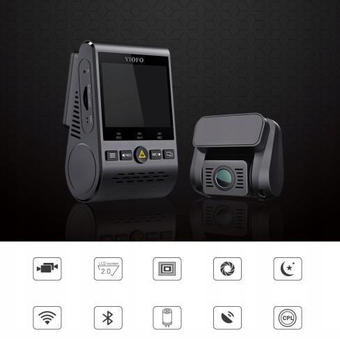 Wideorejestrator VIOFO A129-G DUO GPS WIFI DUAL
