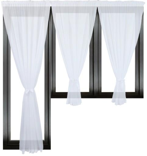 Komplet Firany Gotowe Kuchnia Panel Pokoj 600x240 7378818309 Allegro Pl