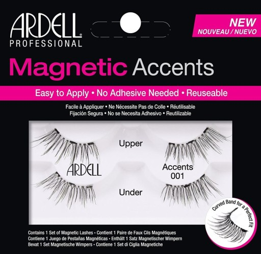 ff7e5747f20 ARDELL MAGNETIC RZĘSY MAGNETYCZNE ACCENTS 001 7614994269 - Allegro.pl