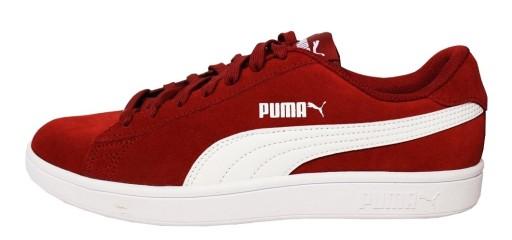 Buty męskie Puma Smash V2 czerwone 364989 06 Poznań Sklepy