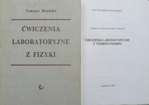 ĆWICZENIA LABORATORYJNE TERMODYNAMIKA+Z FIZYKI