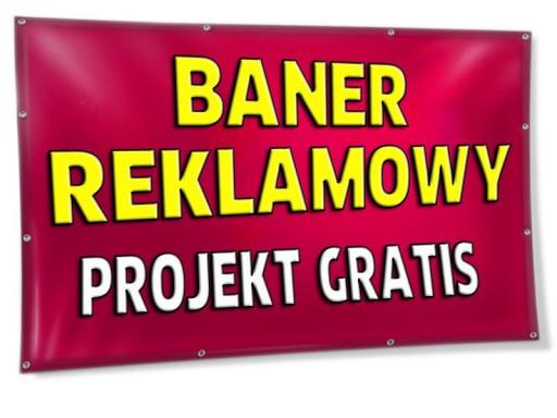 Baner Reklamowy Banner Pcv 1m2 Projekt Gratis 7007577164 Allegropl