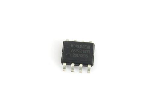 Układ WS2811 sterownik szeregowy diod LED 5szt.