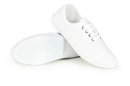 Buty sportowe At TRAMPKI męskie Tenisówki Białe 41