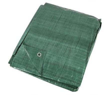 Plandeka Zielona 3x5 Mocna Gruba 90g/m2